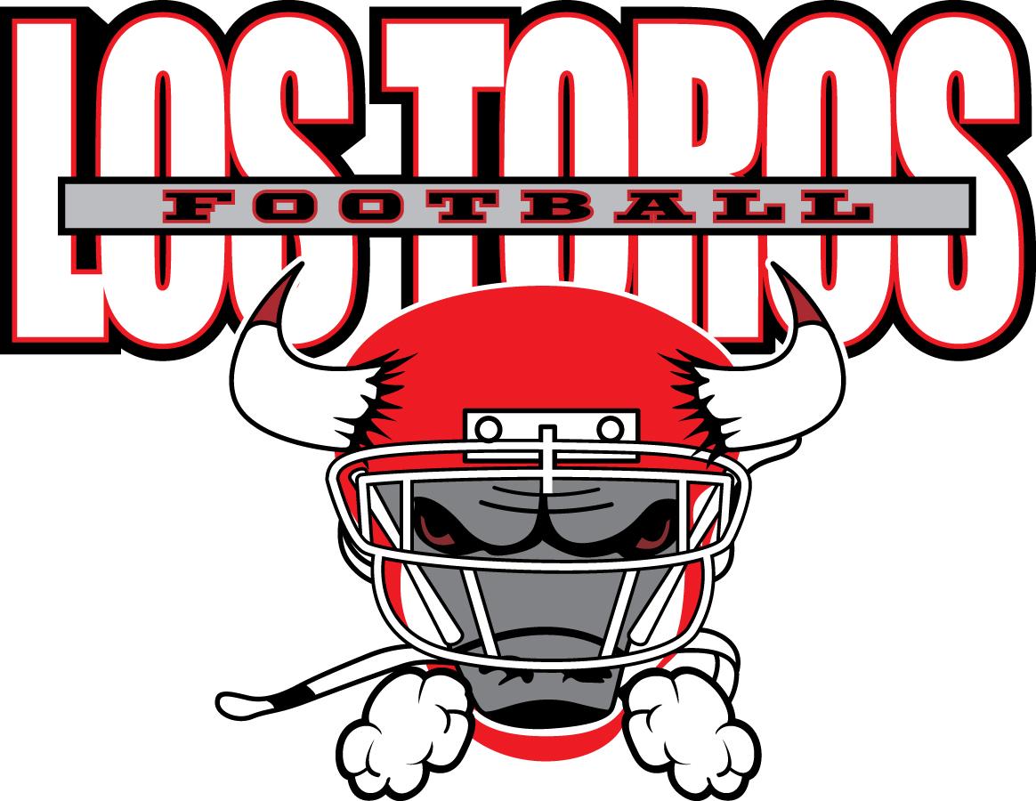 Los Toros Bulls Youth Football & Cheer Logo