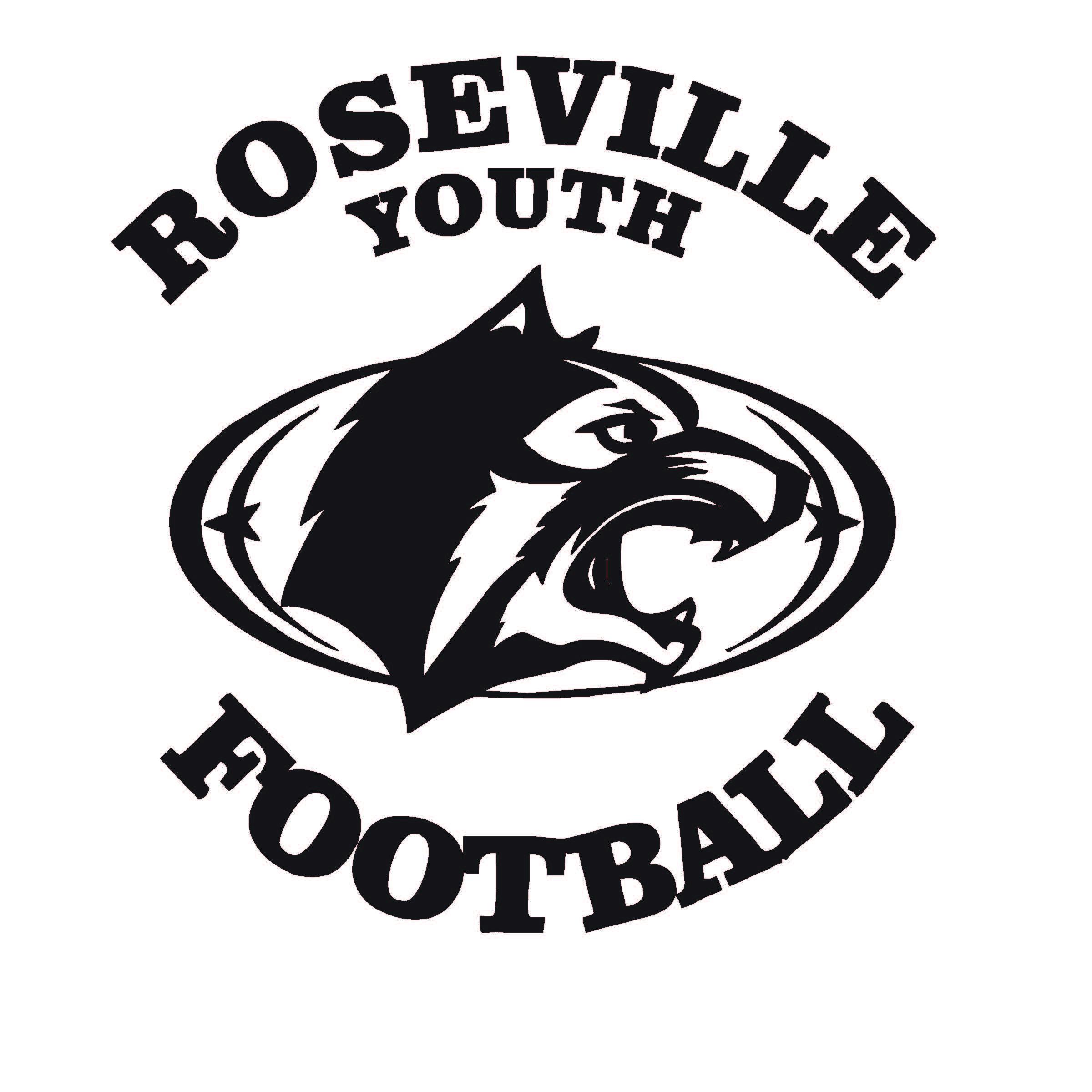 Roseville Area Youth Football Association Logo