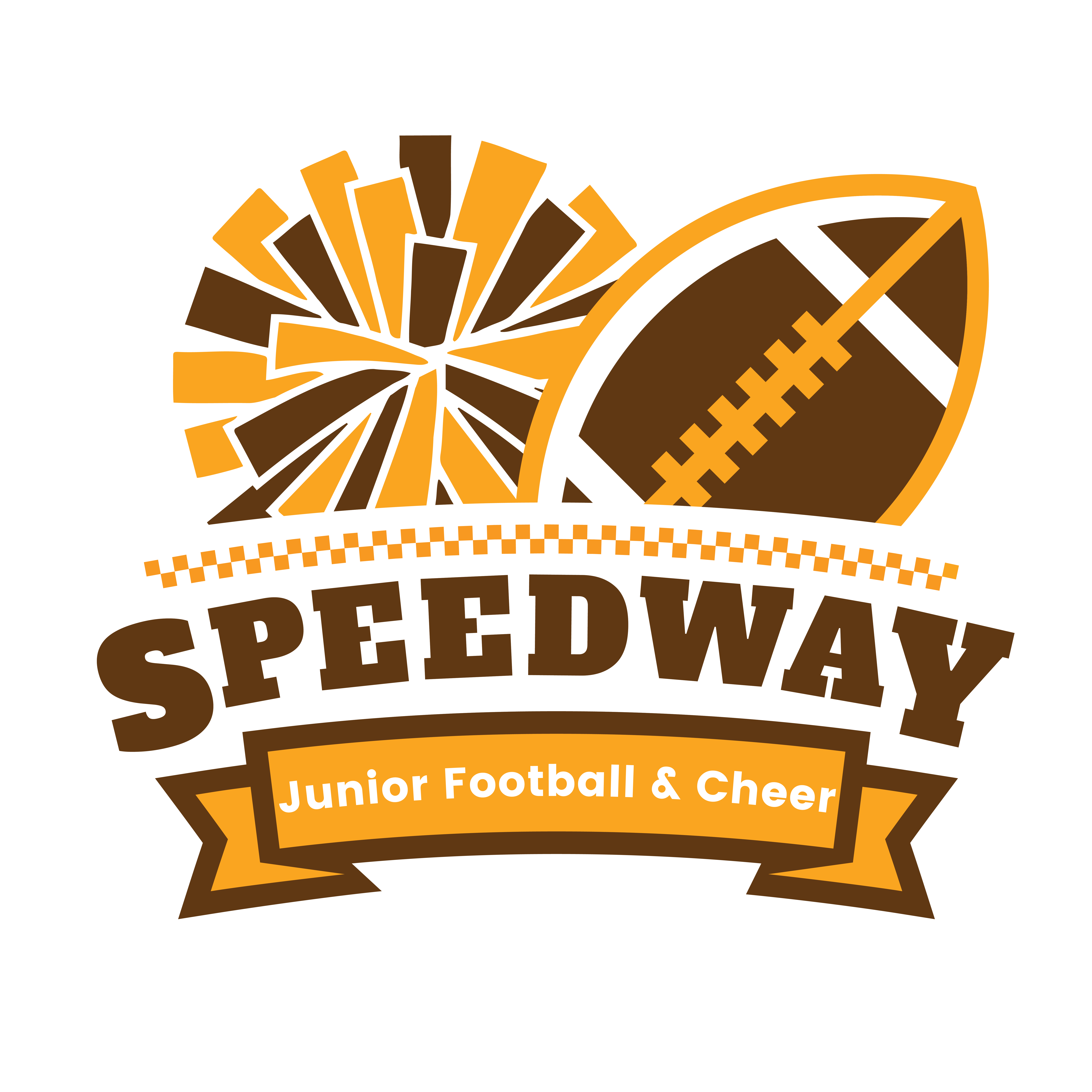 Speedway Junior Football And Cheer Logo
