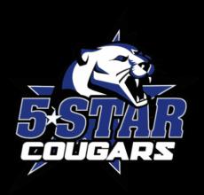 Renton 5 Star Junior Football & Cheer Logo