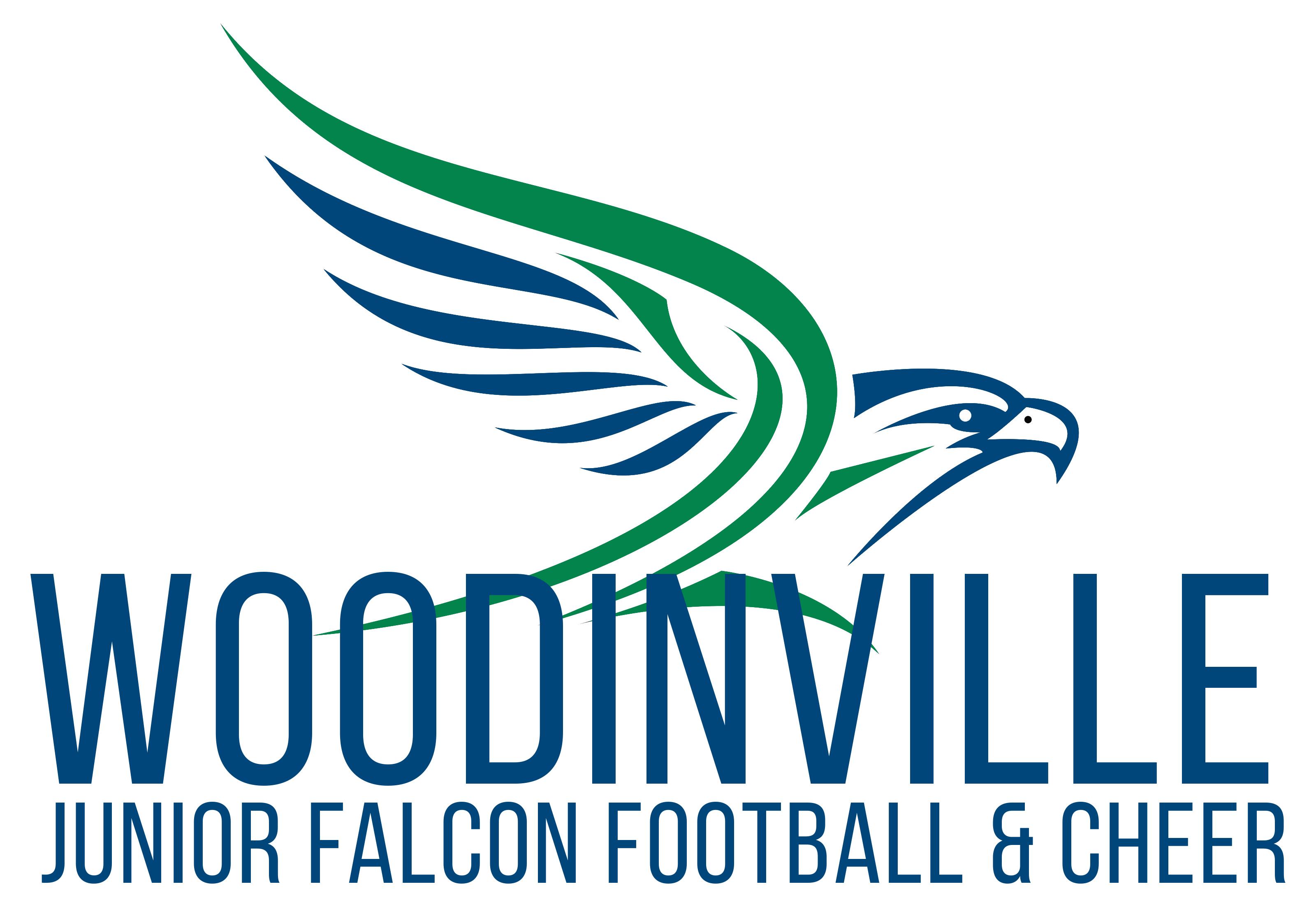 Woodinville Falcons Junior Football Association Logo