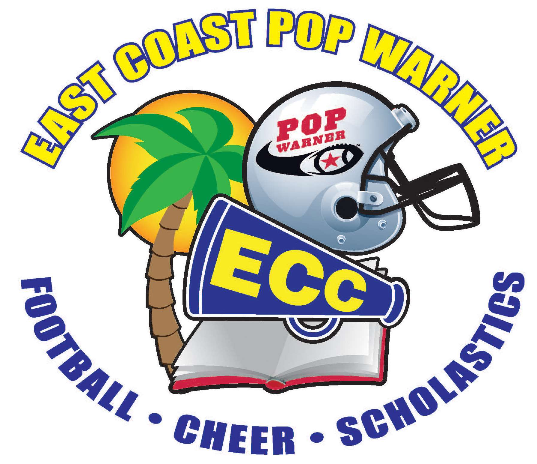 East Coast Pop Warner Logo