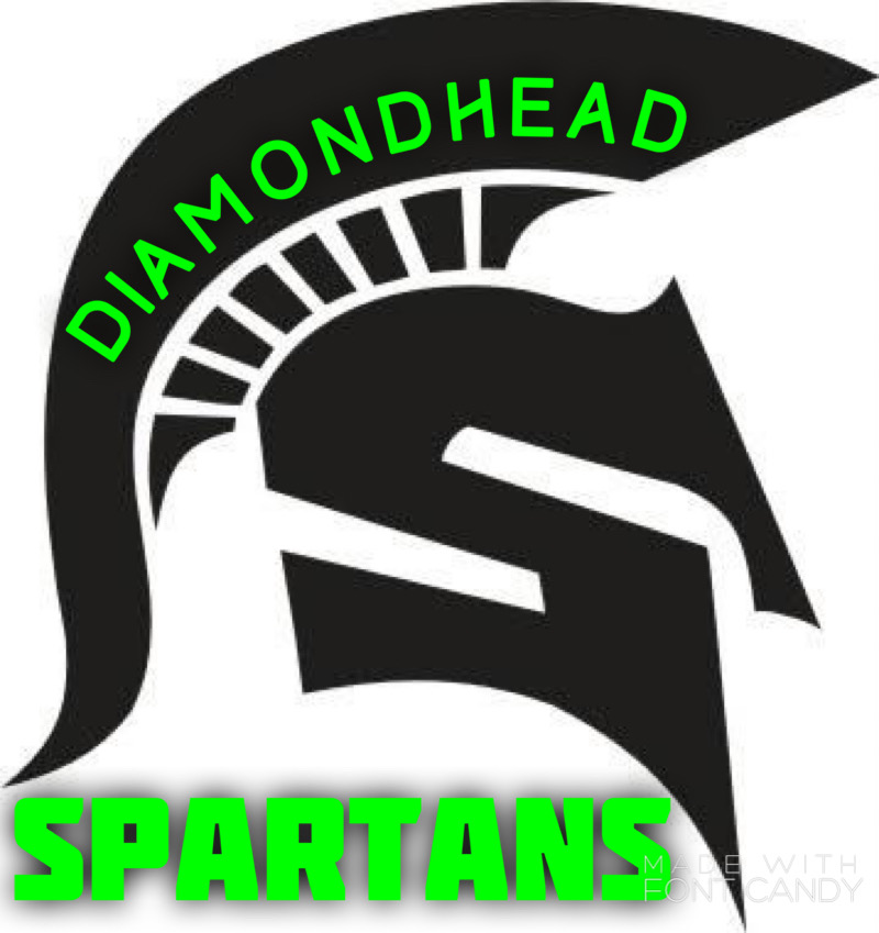 Diamondhead Youth Athletic Association (Spartans) Logo