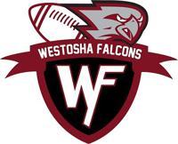 Westosha Falcons Youth Football Logo