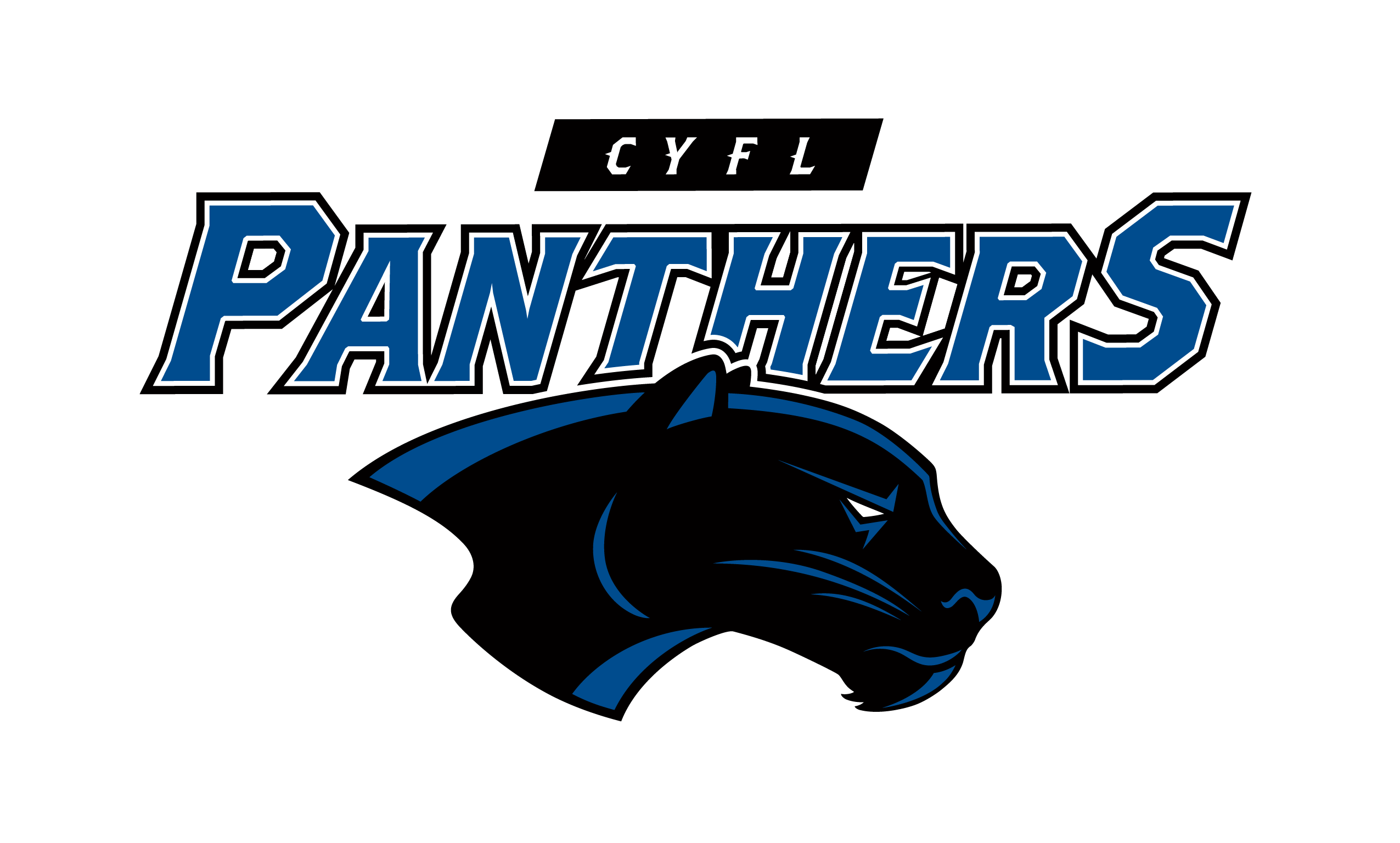 Central Youth Football Panthers Logo