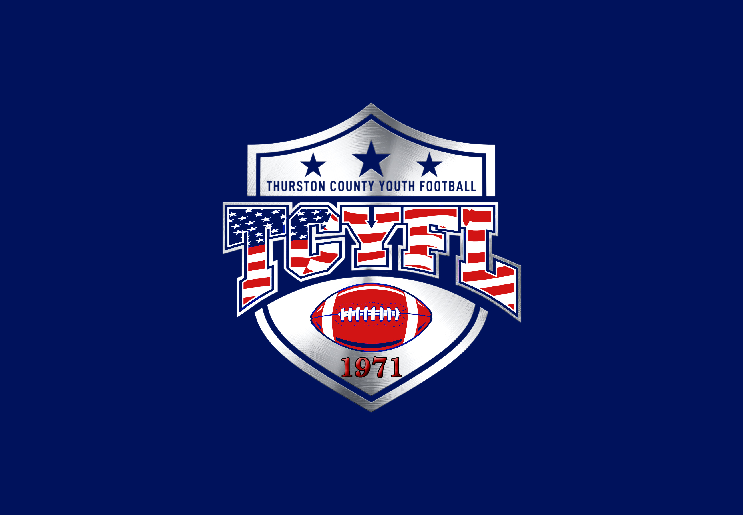 Thurston County Youth Football League Logo