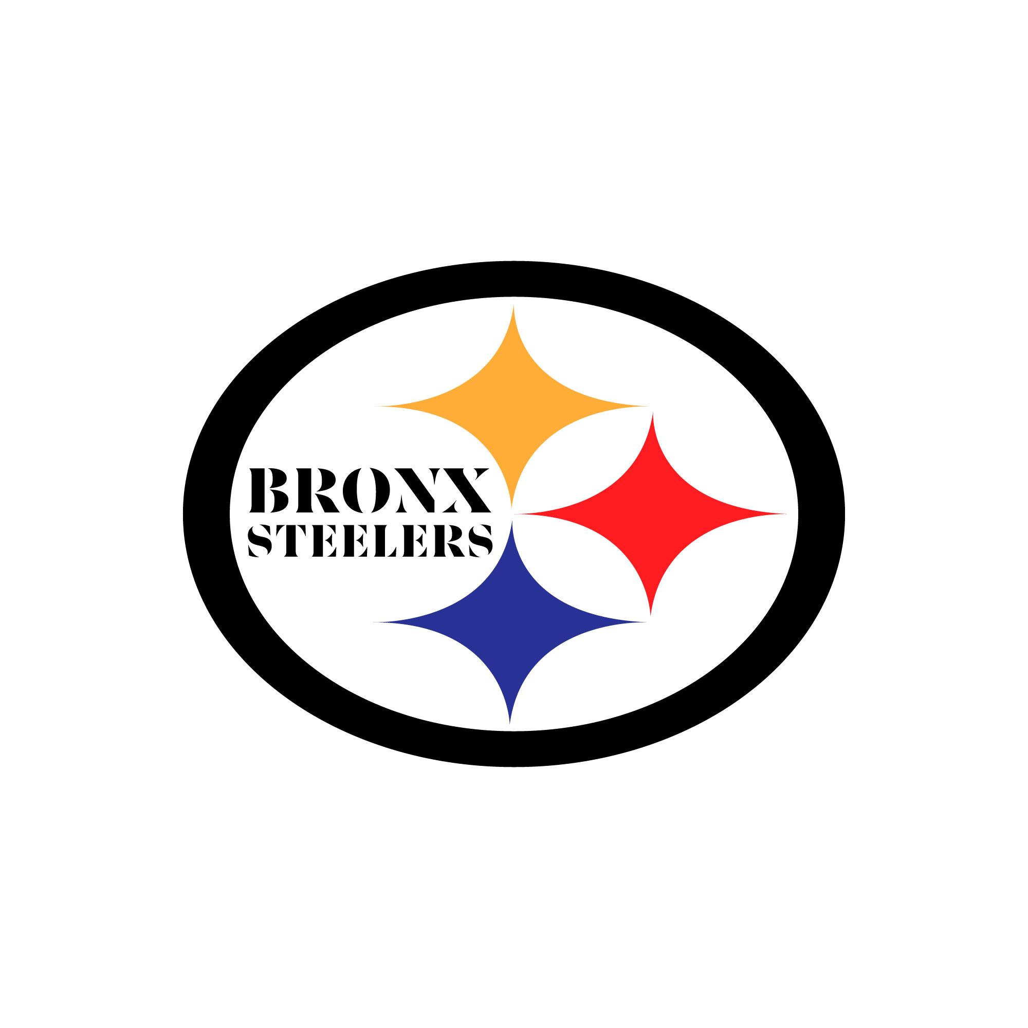 Bronx Steelers Youth Football & Cheer Logo