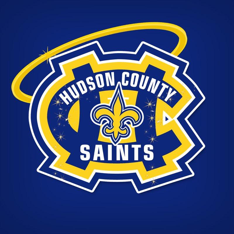 Hudson County Saints Logo
