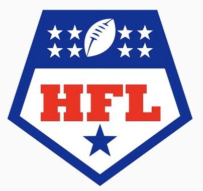 The Houston-Metro Football League  Houston Pop Warner Logo