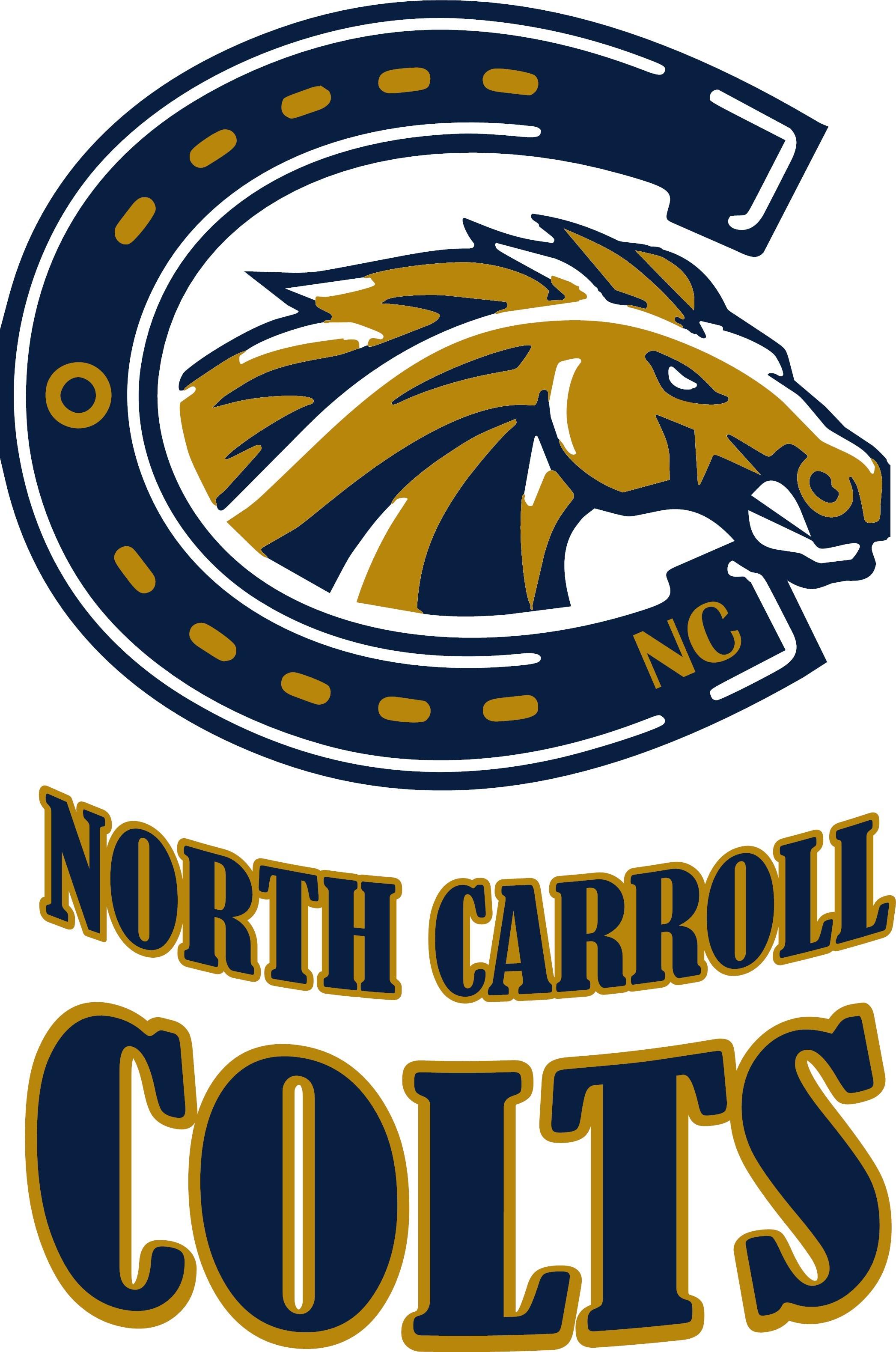 North Carroll Colts Football and Cheer Logo